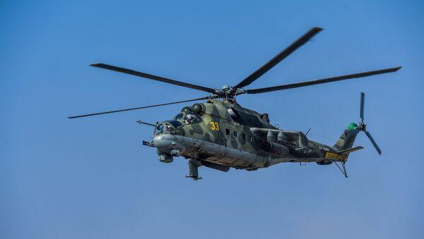 Вертолет МИ-24, архивное фото - Sputnik Таджикистан