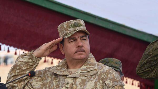 Министр обороны РТ Шерали Мирзо, архивное фото - Sputnik Тоҷикистон