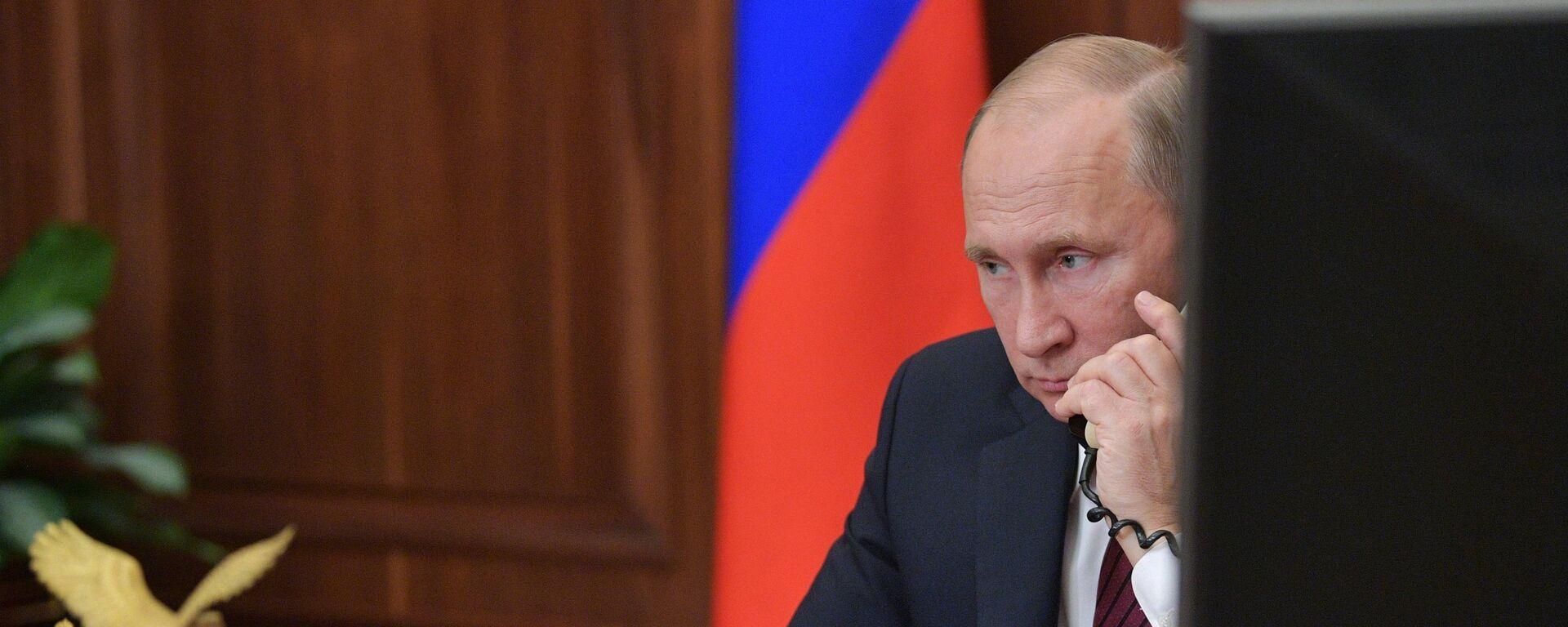 Президент РФ Владимир Путин, архивное фото - Sputnik Таджикистан, 1920, 07.07.2021