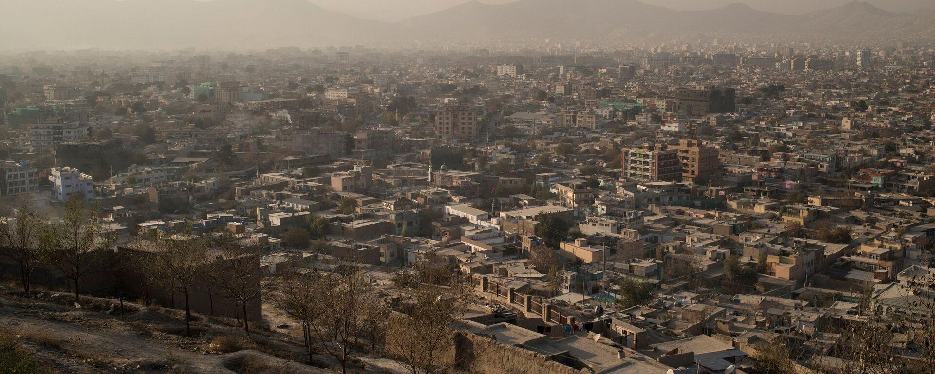 Вид на город Кабул в Афганистане - Sputnik Тоҷикистон, 1920, 08.08.2021