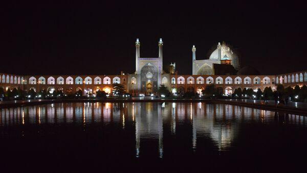 Исфахан ночью, архивное фото - Sputnik Таджикистан
