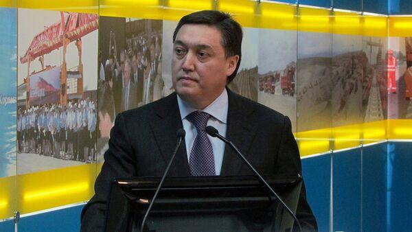 Премьер-министр Казахстана Аскар Мамин, архивное фото - Sputnik Таджикистан