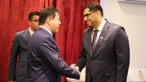 Встреча с Послом Объединенных Арабских Эмиратов Мухаммадом Ахмадом Аль-Джобиром - Sputnik Тоҷикистон