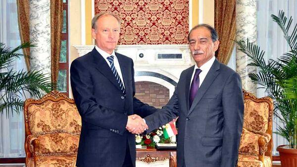 Секретари Советов безопасности России и Таджикистана провели консультации по вопросам обеспечения безопасности - Sputnik Таджикистан