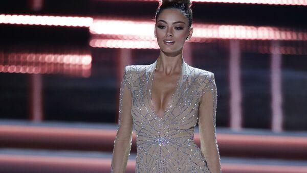 Представительница ЮАР на конкурсе красоты Мисс Вселенная-2017 в Лас-Вегасе - Sputnik Тоҷикистон