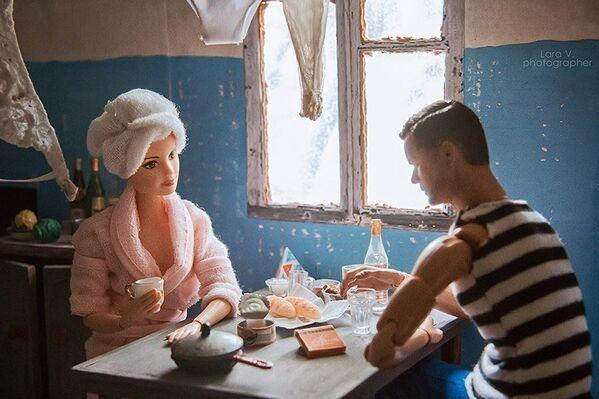 Барби и Кен на кухне коммуналки - Sputnik Таджикистан