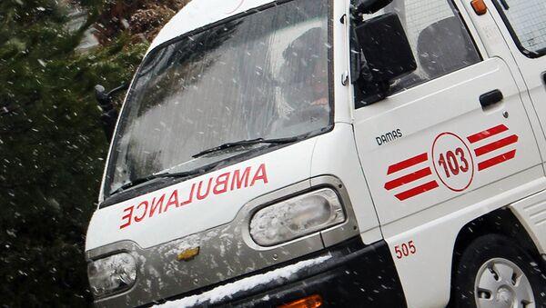 Машина скорой помощи - Sputnik Таджикистан