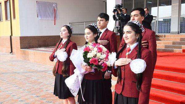 Таджикские студенты, архивное фото - Sputnik Тоҷикистон