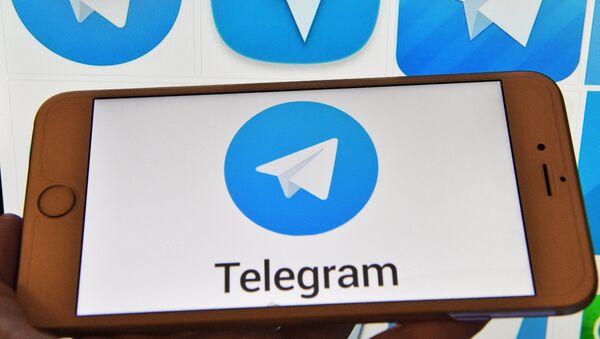 Мессенджер Telegram, архивное фото - Sputnik Таджикистан