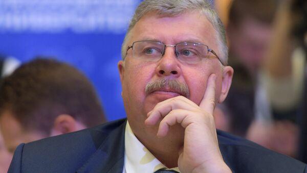 Председатель правления Евразийского банка развития Андрей Бельянинов, архивное фото - Sputnik Таджикистан