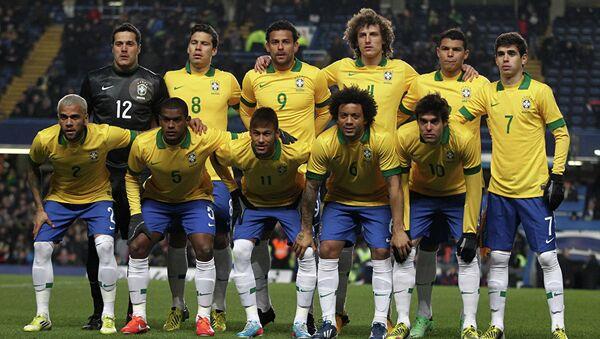 Сборная Бразилии по футболу - Sputnik Таджикистан