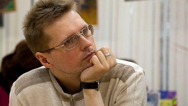 Главный редактор интернет-портала Библиогид Алексей Копейкин, архивное фото - Sputnik Таджикистан