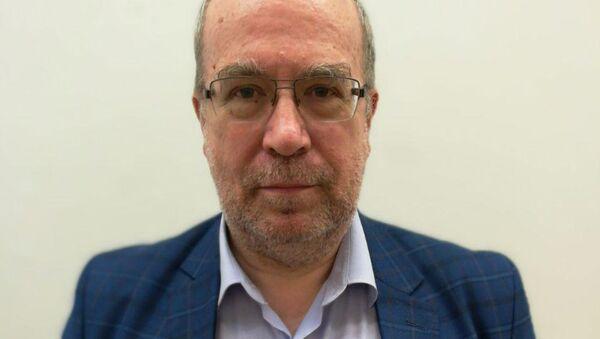 Доктор философских наук Андрей Смирнов, архивное фото - Sputnik Таджикистан