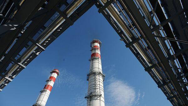 Ввод в эксплуатацию ТЭС, архивное фото - Sputnik Таджикистан