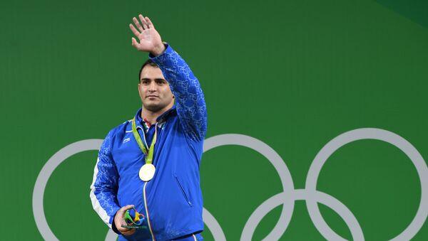Иранский тяжелоатлет Сохраб Моради - Sputnik Таджикистан