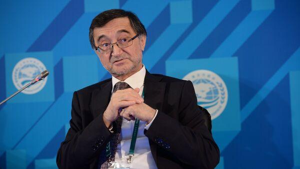 Спецпредставитель Президента Российской Федерации по делам Шанхайской организации сотрудничества (ШОС) Бахтиер Хакимов - Sputnik Таджикистан