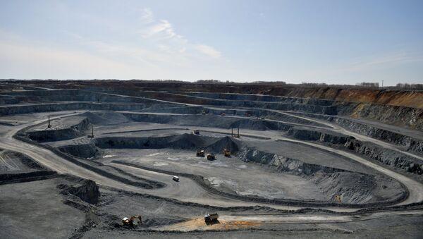 Месторождение медной руды, архивное фото - Sputnik Таджикистан