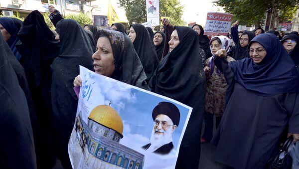 Празднование дня Аль-Кодс в Иране - Sputnik Тоҷикистон
