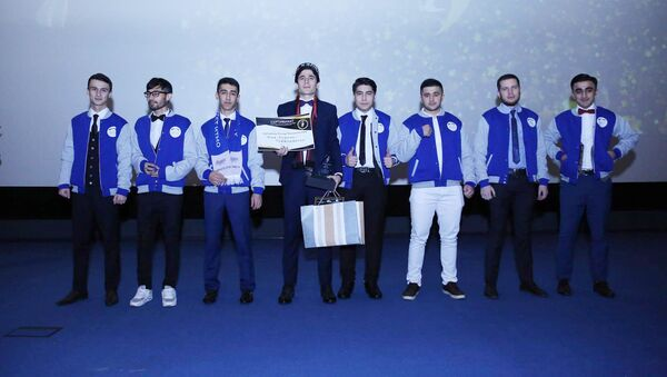Торжественная церемония вручения таджикской национальной премии Студент года — 2017 - Sputnik Тоҷикистон