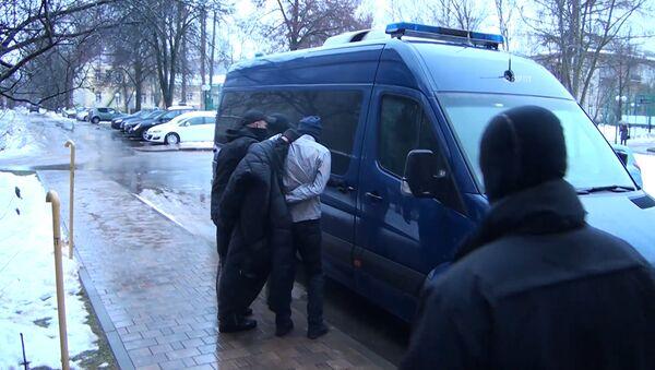 Сотрудники ФСБ показали компоненты бомбы, найденной при задержании членов ячейки ИГ - Sputnik Тоҷикистон