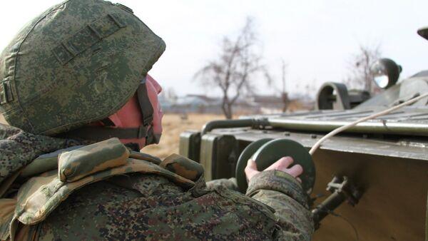 Подразделения радиоэлектронной борьбы 201-й военной базы в Таджикистане - Sputnik Таджикистан