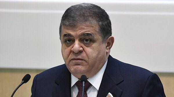 Заместитель председателя Комитета Совета Федерации по международным делам Владимир Джабаров - Sputnik Таджикистан