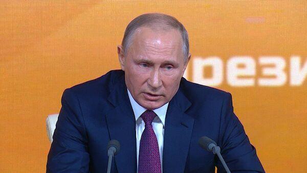 Путин: Россия и США могли бы объединить усилия в борьбе с терроризмом в Афганистане - Sputnik Тоҷикистон