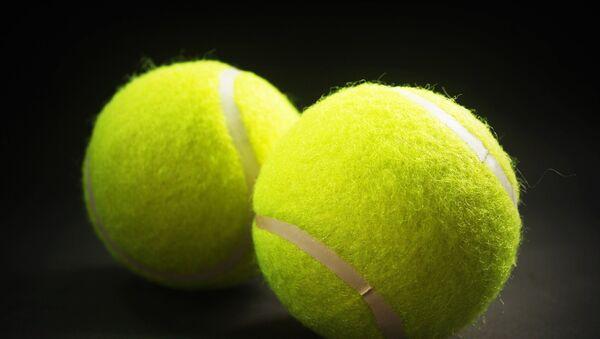 Теннисные мячи, архивное фото - Sputnik Таджикистан