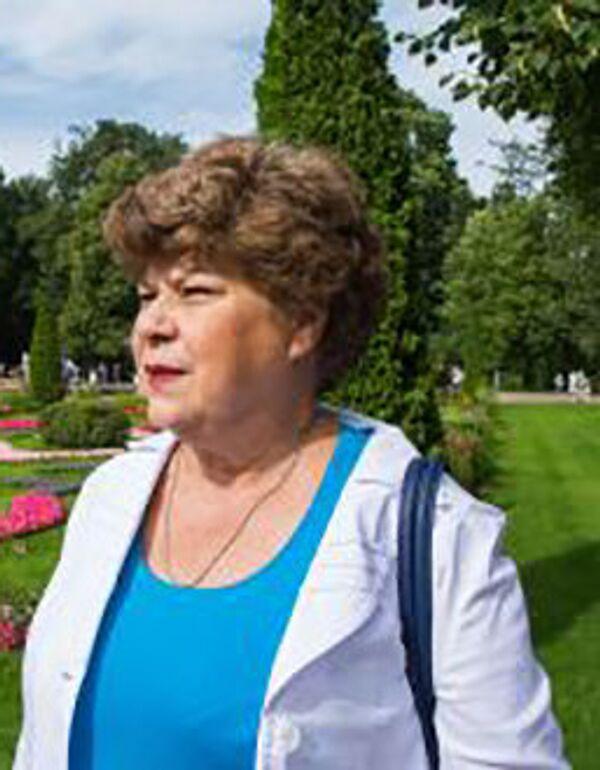 Профессор, доктор экономических наук Елена Яковлева - Sputnik Таджикистан
