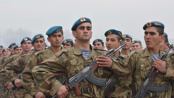 Передача военной техники Республике Таджикистан от российской стороны - Sputnik Тоҷикистон