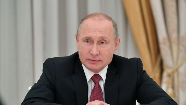 Президент РФ В. Путин встретился с руководителями спецслужб СНГ - Sputnik Таджикистан