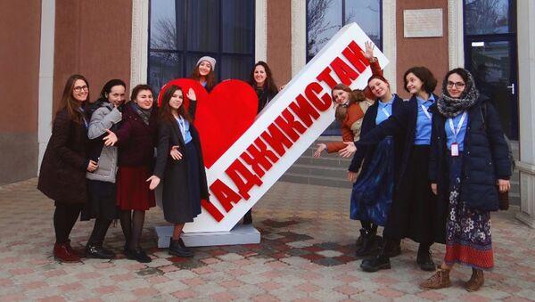 Послы русского языка в Душанбе, архивное фото - Sputnik Таджикистан