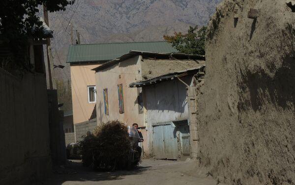 Переулки старого Воруха, архивное фото - Sputnik Таджикистан