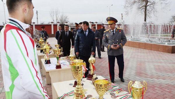 Встреча министра внутренных дел с молодежью - Sputnik Тоҷикистон