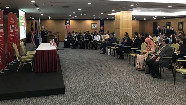 Бизнес-семинар в Куала-Лумпуре - Sputnik Тоҷикистон