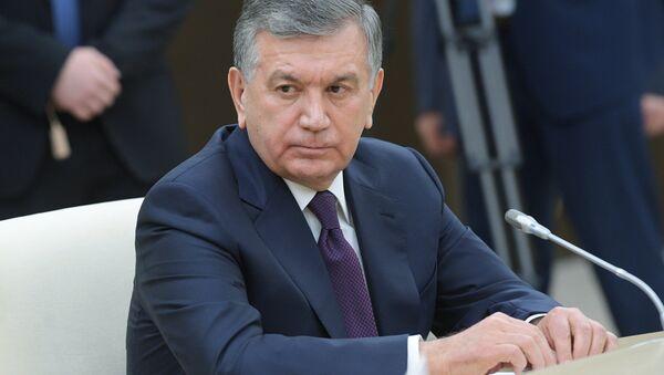 Президент Республики Узбекистан Шавкат Мирзиёев, архивное фото - Sputnik Таджикистан