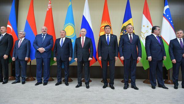 Неформальная встреча глав государств СНГ - Sputnik Тоҷикистон
