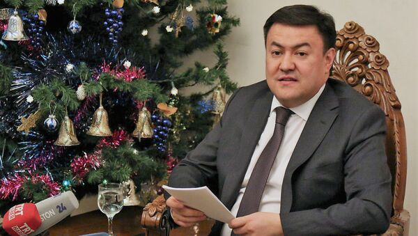Данияр Сыдыков - Чрезвычайный и Полномочный Посол Кыргызской Республики в Республике Узбекистан - Sputnik Таджикистан