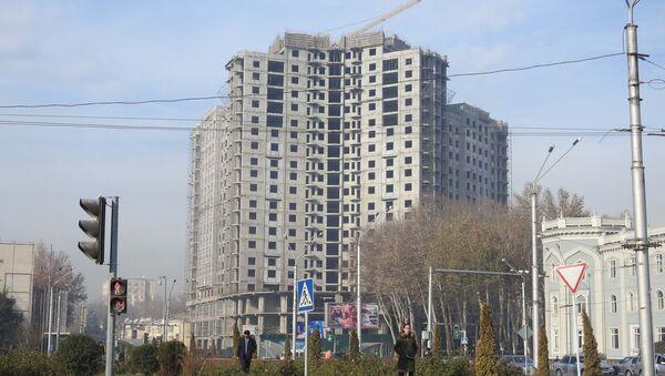 Новостройка у площади Садбарг, архивное фото - Sputnik Таджикистан