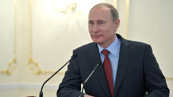 Президент России Владимир Путин, архивное фото - Sputnik Тоҷикистон