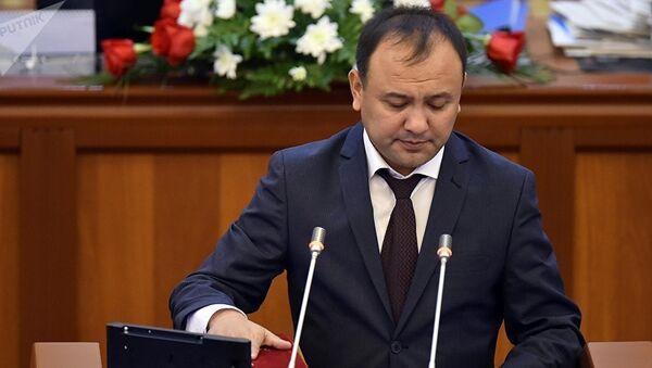 Кыргызский депутат Таабалды Тиллаев, архивное фото - Sputnik Таджикистан