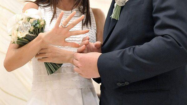 Церемония бракосочетания, архивное фото - Sputnik Таджикистан