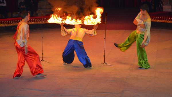 Цирк в Узбекистане - Sputnik Таджикистан