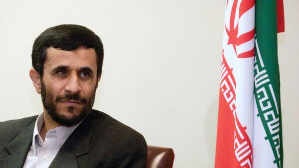 Махмуд Ахмадинежад - Sputnik Тоҷикистон