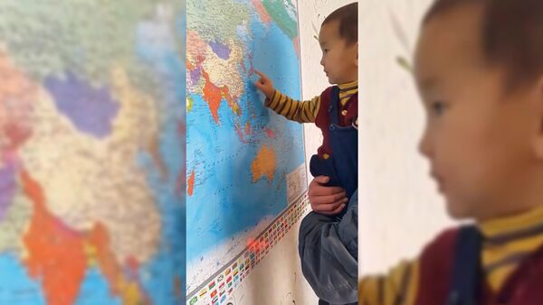 Ребенок, который обладает редкими знаниями для детей его возраста - Sputnik Тоҷикистон