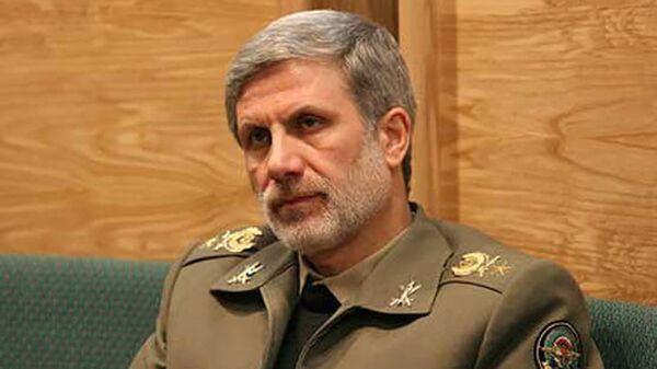 Министр обороны Ирана Амир Хатами, архивное фото - Sputnik Тоҷикистон