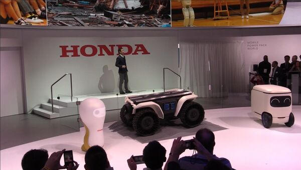 Компания Хонда представила серию роботов 3E - Sputnik Таджикистан