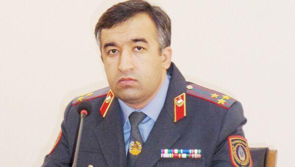 Начальник Управления: Хафиззода Шоди Хуршед - полковник милиции, архивное фото - Sputnik Таджикистан