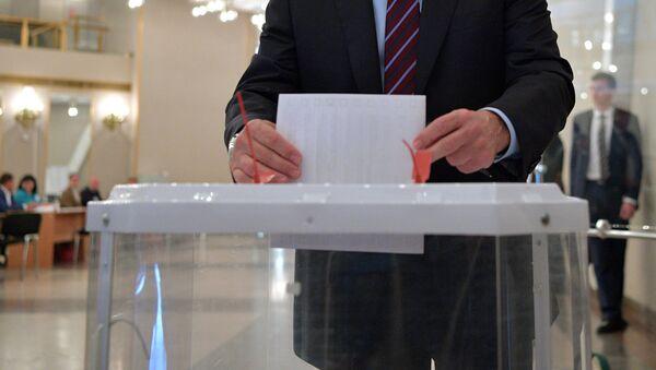 Выборная корзина, архивное фото - Sputnik Таджикистан