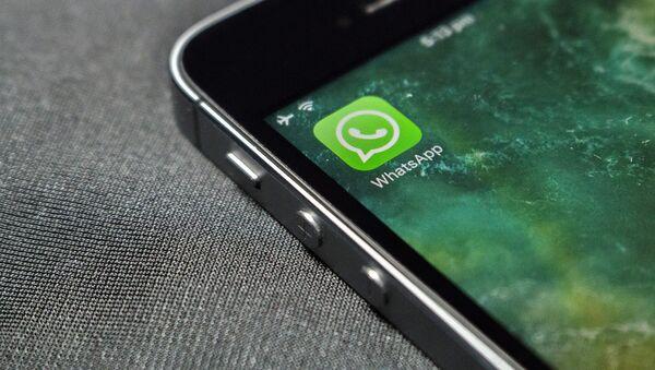 Месенджер WhatsApp, архивное фото - Sputnik Таджикистан